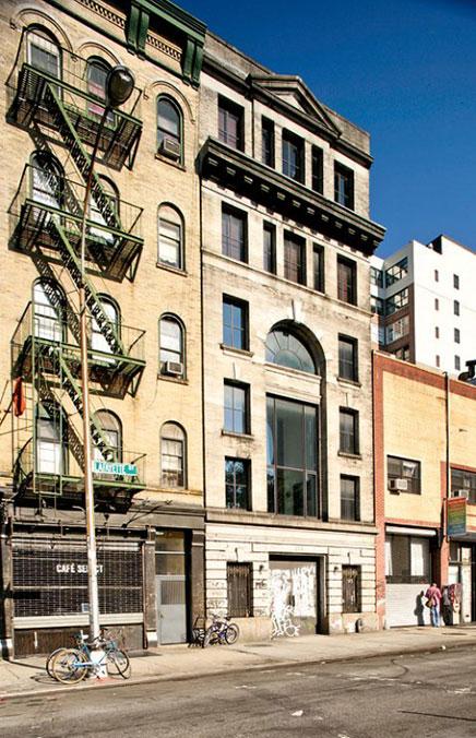 Dachterrasse von New Yorker Loft