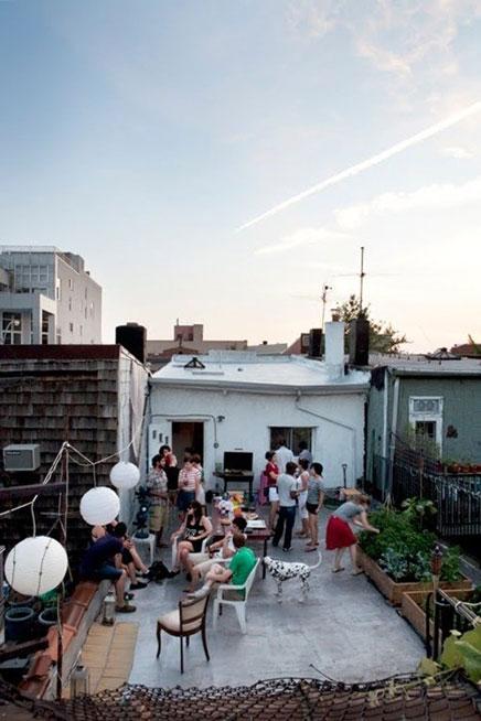 Dachterrasse Party!