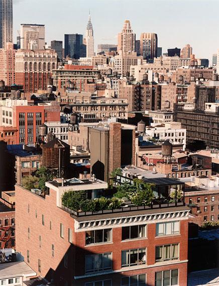 Dachterrasse Penthouse Loft in Manhattan