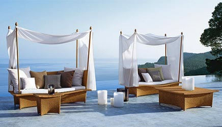 dedon outdoor m bel wohnideen einrichten. Black Bedroom Furniture Sets. Home Design Ideas