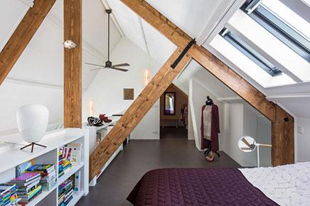 design loft wohnung alten schulgeb ude in amsterdam wohnideen einrichten. Black Bedroom Furniture Sets. Home Design Ideas
