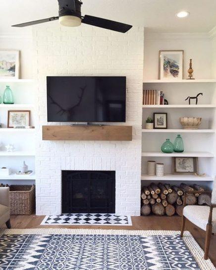 Die Kombination Von Tv Und Kamin | Wohnideen Einrichten