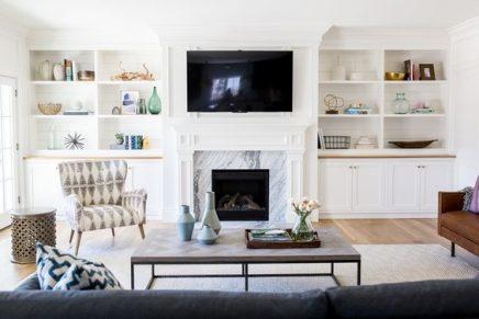 Die Kombination Von Tv Und Kamin Wohnideen Einrichten