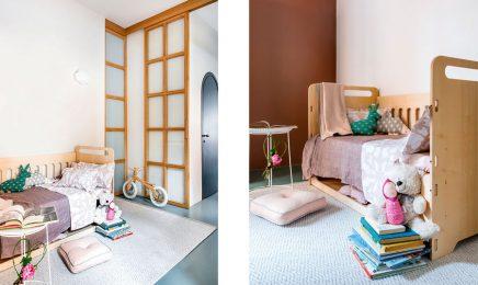 diese kleine wohnung von 60m2 ist super sch n mit viel farbe dekoriert wohnideen einrichten. Black Bedroom Furniture Sets. Home Design Ideas