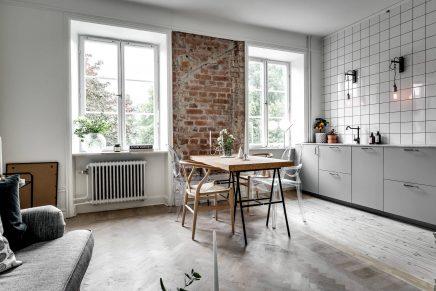 diese robuste kleine wohnung ist sehr praktisch und verspielt wohnideen einrichten. Black Bedroom Furniture Sets. Home Design Ideas