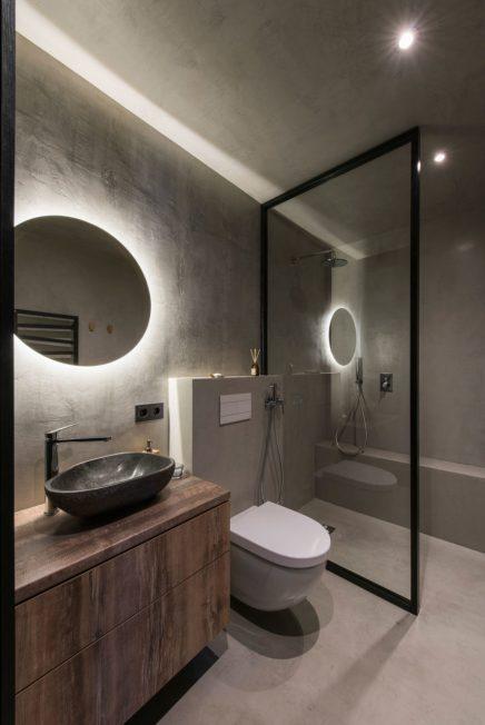 Dieses Kleine Badezimmer Von Weniger Als 6m2 Ist Super Cool Eingerichtet Wohnideen Einrichten