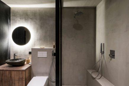 Dieses kleine Badezimmer von weniger als 6m2 ist super cool ...