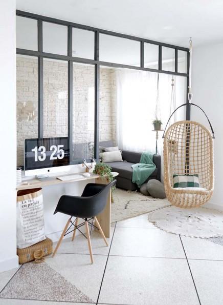DIY Industrie-Trennwand aus Holz   Wohnideen einrichten