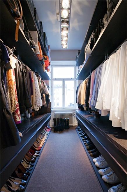 Effiziente einfachen Begehbarer kleiderschrank