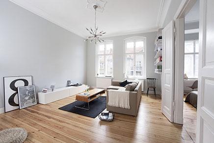 Ein Einblick in skandinavischen Wohnung in Polen