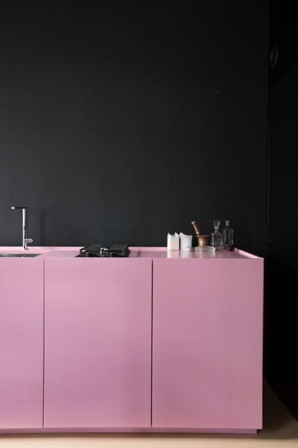 Eine zähe rosa Küche! | Wohnideen einrichten