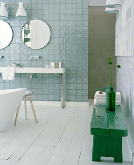 Einfach rein Badezimmer