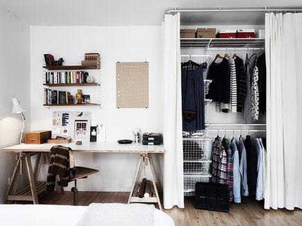 Einfach schön fertig begehbaren Kleiderschrank