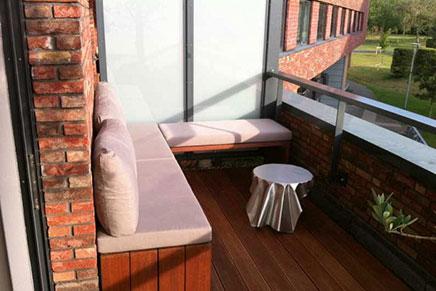 Einfachen Balkon Design