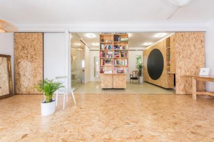 einrichtung einer flexiblen wohnung in madrid wohnideen einrichten. Black Bedroom Furniture Sets. Home Design Ideas