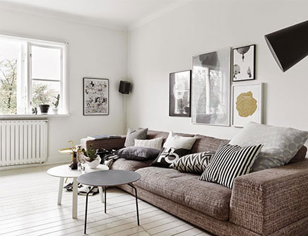 Einrichtung Skandinavischen Wohnzimmer 4