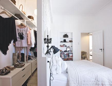 Einzigartige Zimmer mit einzigartigen begehbarer Kleiderschrank