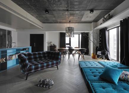 Elegance Industriel Wohnzimmer 3