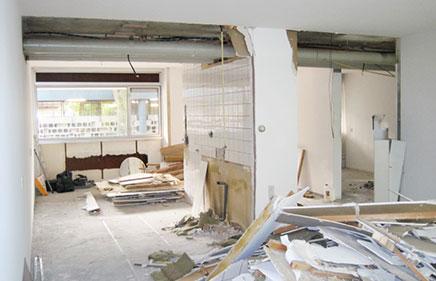 Erstaunlich Renovierung von jahre '70 Wohnung