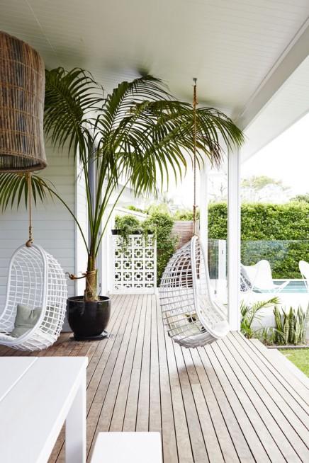 Exotische Luxus mit modernen Garten Veranda