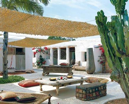 Exotischer Garten Formentera