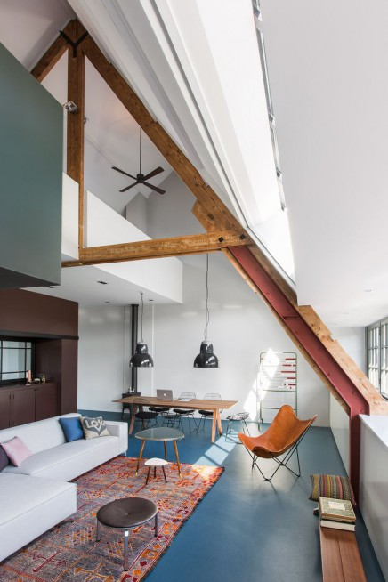 Interior in the Floris Versterstraat in Amsterdam designed by Studio Ruim, Amsterdam