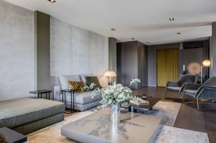 Fernsehschrank als Raumteiler   Wohnideen einrichten