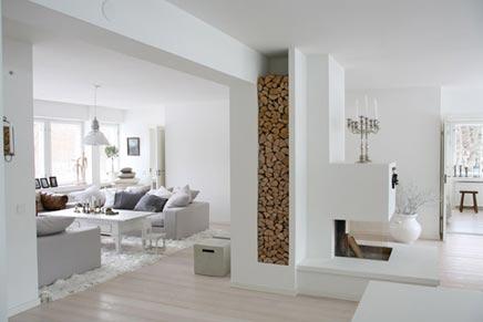 Finnische serene wohnzimmer