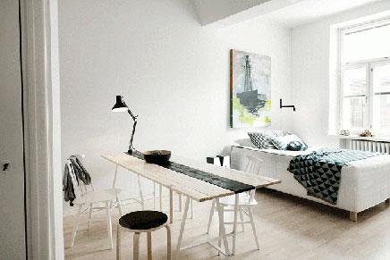 Finnische Wohnung mit skandinavischem Design
