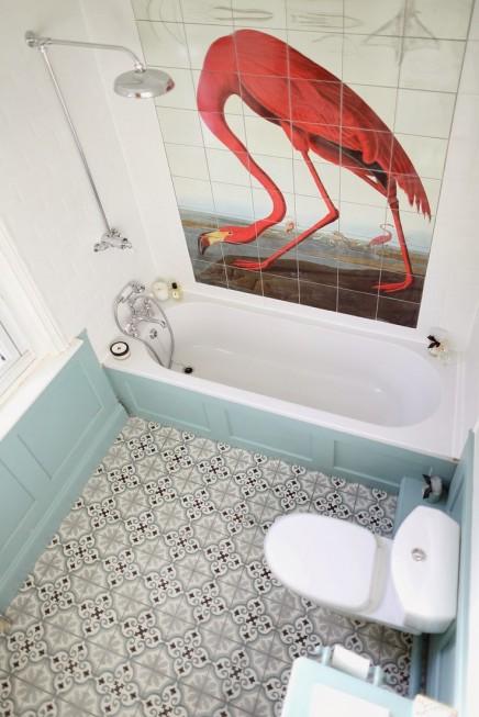 flamingo-badezimmer
