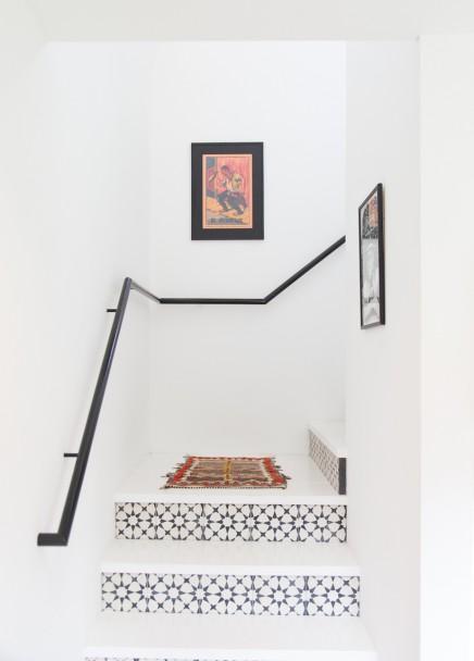 Fliesen Für Treppen : Häufig verwendete Fliesen für Treppen sind Zementfliesen. Schöne ...