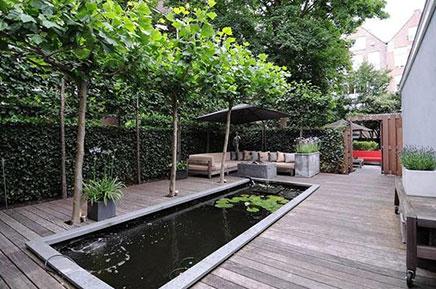 Garten auf dem PC Hooftstraat!