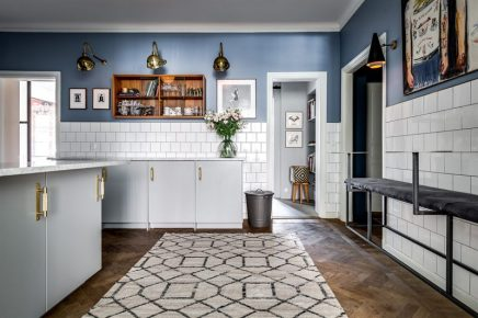 Gehobene küche dusty deco besitzer wohnideen einrichten