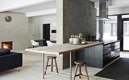 Gemütliches Wohnzimmer von Designer Ulla Koskinen