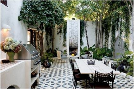 Gemütliche mediterranen Garten