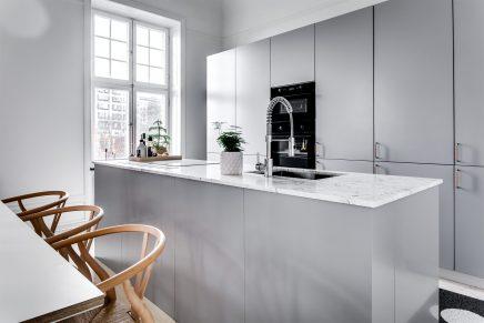 skandinavisch einrichten modernes interieur, geräumige und helle skandinavische wohnung mit modernem interieur, Design ideen