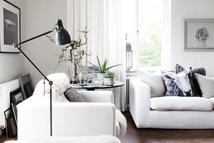 Geschmackvolle Wohnzimmer von Innenarchitektin Daniella Witte