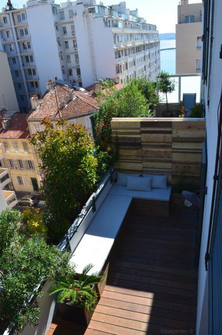 gestalten sie sonnigen balkon terrasse von 30m2 wohnideen einrichten. Black Bedroom Furniture Sets. Home Design Ideas