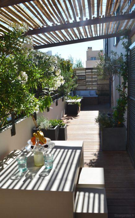 Gestalten Sie Sonnigen Balkon Terrasse Von 30m2 Wohnideen Einrichten