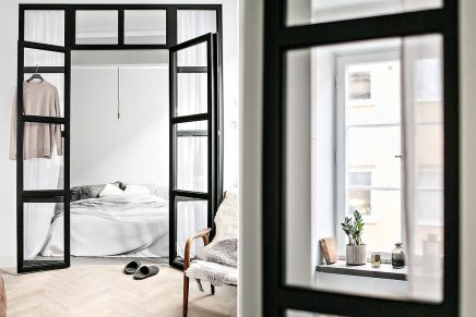 glaswand-und-stahlrahmen-zwischen-schlafzimmer-und-wohnzimmer-in-kleine-wohnung-von-45m2-1