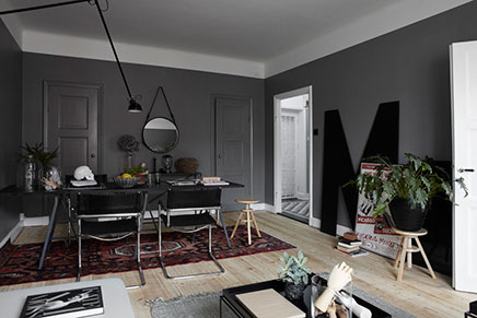 Grauen Wohnzimmer