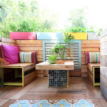 gro e balkon renovierung von ananda wohnideen einrichten. Black Bedroom Furniture Sets. Home Design Ideas