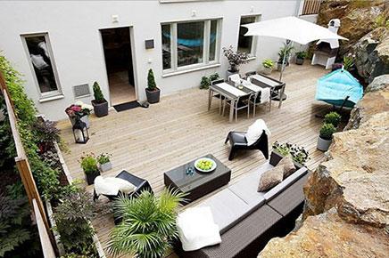 Große Garten im kleine wohnung