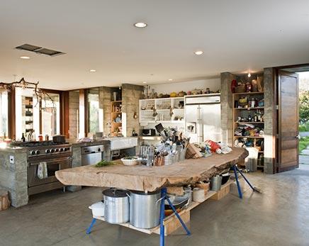 Große Küche von Ben und Naomi