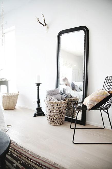 Große Spiegel auf dem Boden | Wohnideen einrichten