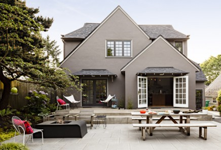 Große Villa Garten aus Portland