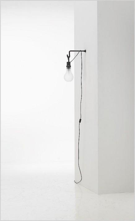 h ngelampe an der wand wohnideen einrichten. Black Bedroom Furniture Sets. Home Design Ideas