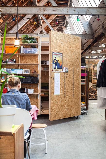 haus und b ro in einer ehemaligen textilfabrik wohnideen einrichten. Black Bedroom Furniture Sets. Home Design Ideas