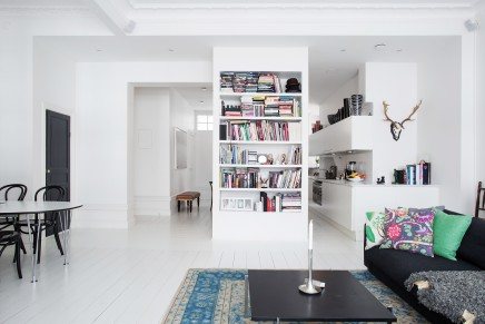 moderne loft wohnung im skandinavischen stil mit naturschöner deko, Innenarchitektur ideen