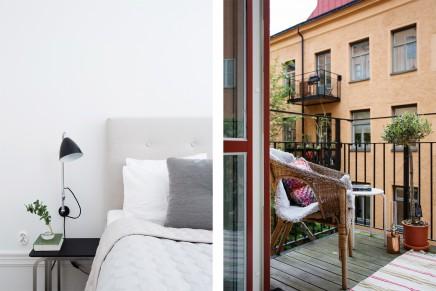 helle und ger umige loft wohnung mit skandinavischen atmosph re wohnideen einrichten. Black Bedroom Furniture Sets. Home Design Ideas